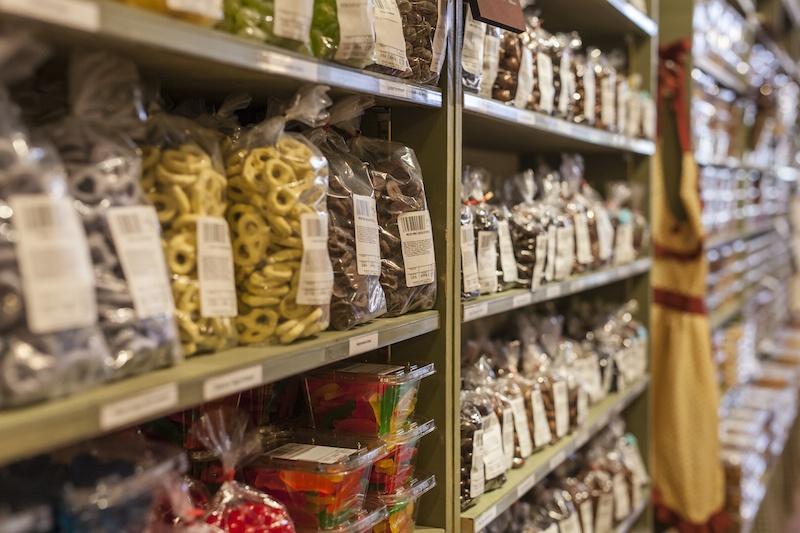 candy shelf