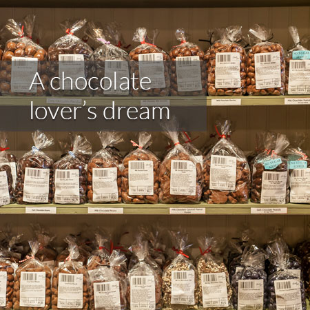 Chocolate covered items