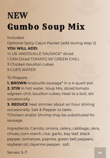 instructions gumbo